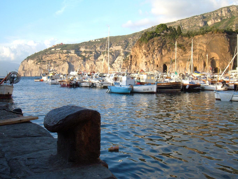Foto marina di cassano con barche